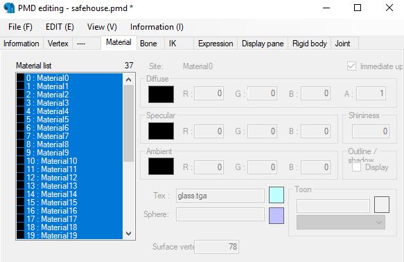 Conversión de archivos 3d MMD con el PMX Editor para The Movies - Página 2 Tuto310