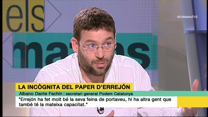 TV3 | PROGRAMA ESPECIAL: ELECCIONS CATALANES 2018  Dante-10