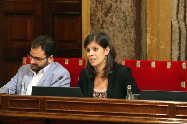 Parlament | Debat en relació a les conseqüències de l'aplicació de l'article 155 Marta_11