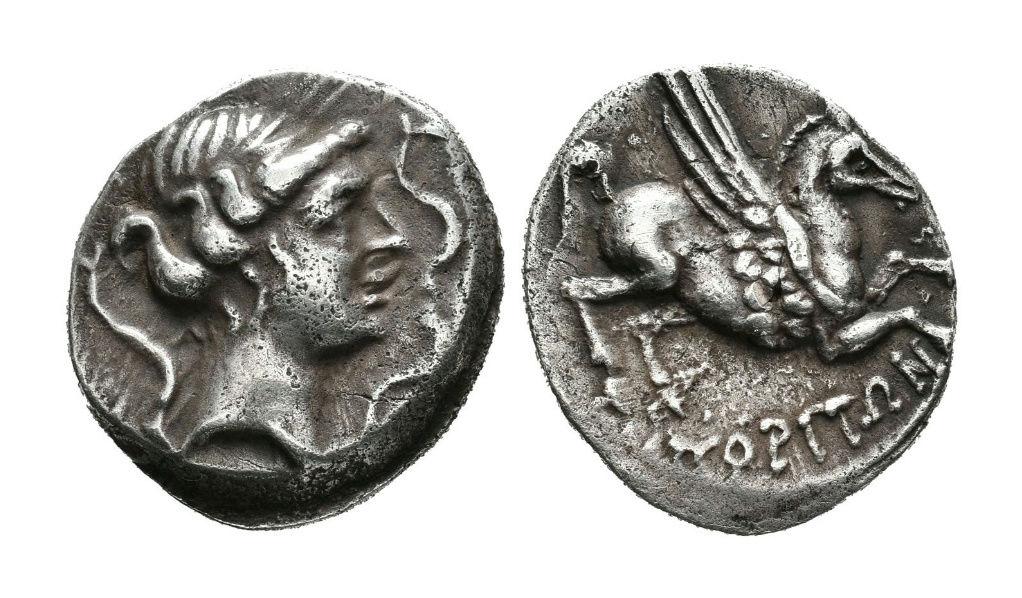 Dracma de Emporiton (220-150 a.C.) Ampurias (Girona) Descar10