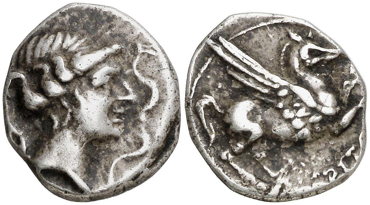 Dracma de Emporiton (220-150 a.C.) Ampurias (Girona) Image010