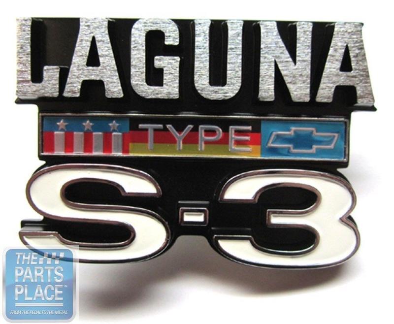 '76 Laguna S3 emblems Grill_10