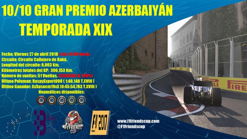 [10/10 T.XIX F1 2017] GRAN PREMIO AZERBAIYÁN, BAKU CITY CIRCUIT [100%] Azerba11