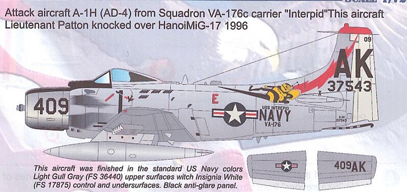 a-1h skyraider  1/72 33095510