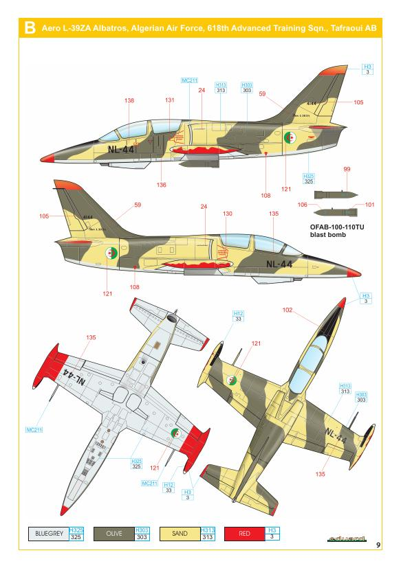 L-39  EDUARD  1/72 74270010