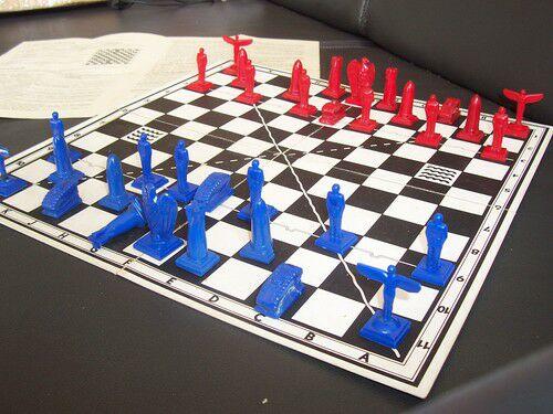 Шахматы, шахматы и... морской бой  0610