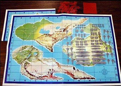 Шахматы, шахматы и... морской бой  0910