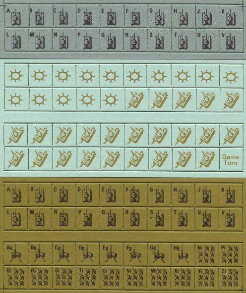 Приложение к заметкам о простых играх (полукомпьютерная игра TANKTICS, 1978) 4i0710