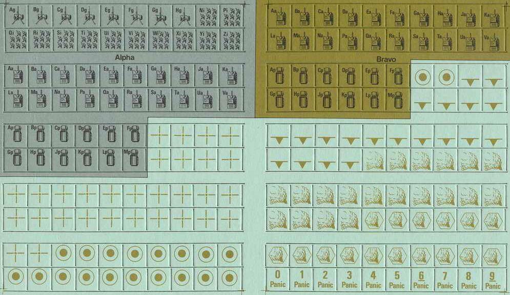 Приложение к заметкам о простых играх (полукомпьютерная игра TANKTICS, 1978) 4i0810