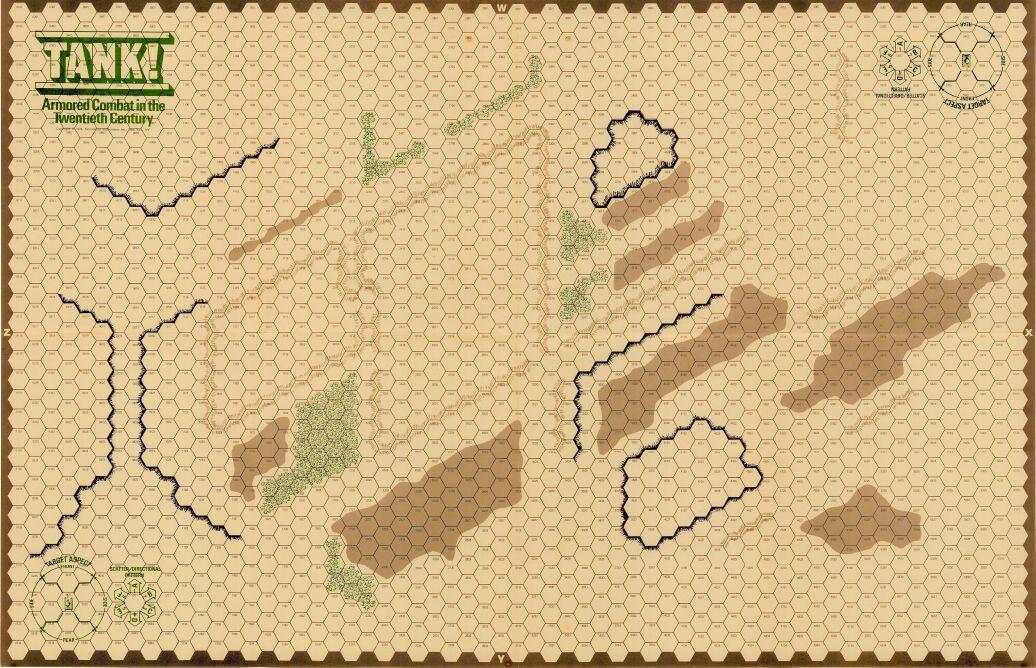 Приложение к заметкам о простых играх (полукомпьютерная игра TANKTICS, 1978) 4i0910