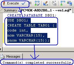 انشاء قاعدة البيانات بـــSQL Server 2005 واستعمالها  Im0411