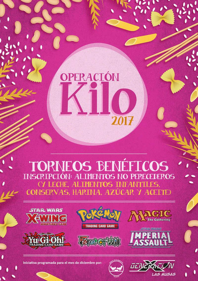 Sábado 9/12/2017 - Generación X Las Musas - Torneo Benéfico Op.KILO 2017 Cartel10