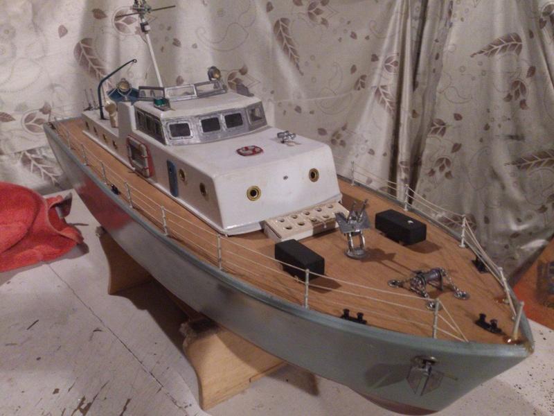 Nautimodelismo Barco-15