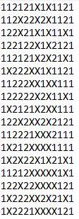 SUGESTÕES DE TOTOBOLA FMKF-35 = MÚLTIPLAS / DESDOBRAMENTOS / SIMPLES 20410
