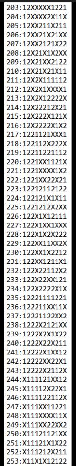 SUGESTÕES DE TOTOBOLA FMKF-35 = MÚLTIPLAS / DESDOBRAMENTOS / SIMPLES 25310