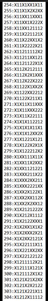 SUGESTÕES DE TOTOBOLA FMKF-35 = MÚLTIPLAS / DESDOBRAMENTOS / SIMPLES 30410