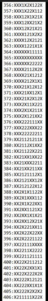 SUGESTÕES DE TOTOBOLA FMKF-35 = MÚLTIPLAS / DESDOBRAMENTOS / SIMPLES 40610