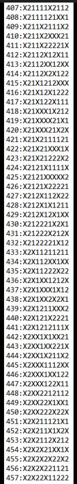 SUGESTÕES DE TOTOBOLA FMKF-35 = MÚLTIPLAS / DESDOBRAMENTOS / SIMPLES 45710