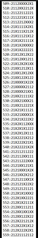 SUGESTÕES DE TOTOBOLA FMKF-35 = MÚLTIPLAS / DESDOBRAMENTOS / SIMPLES 55910