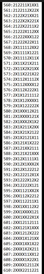 SUGESTÕES DE TOTOBOLA FMKF-35 = MÚLTIPLAS / DESDOBRAMENTOS / SIMPLES 61010