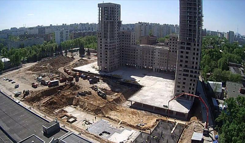 """Веб-камеры на площадке строительства ЖК """"Нормандия"""" - Страница 3 1234110"""