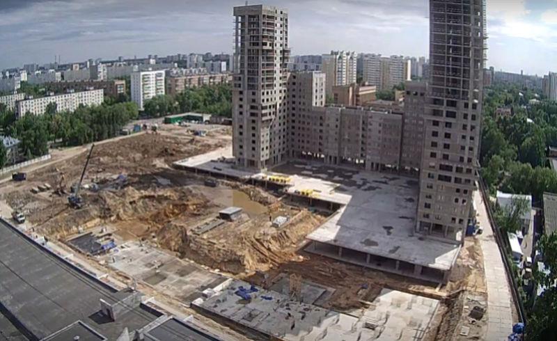 """Веб-камеры на площадке строительства ЖК """"Нормандия"""" - Страница 4 2210"""