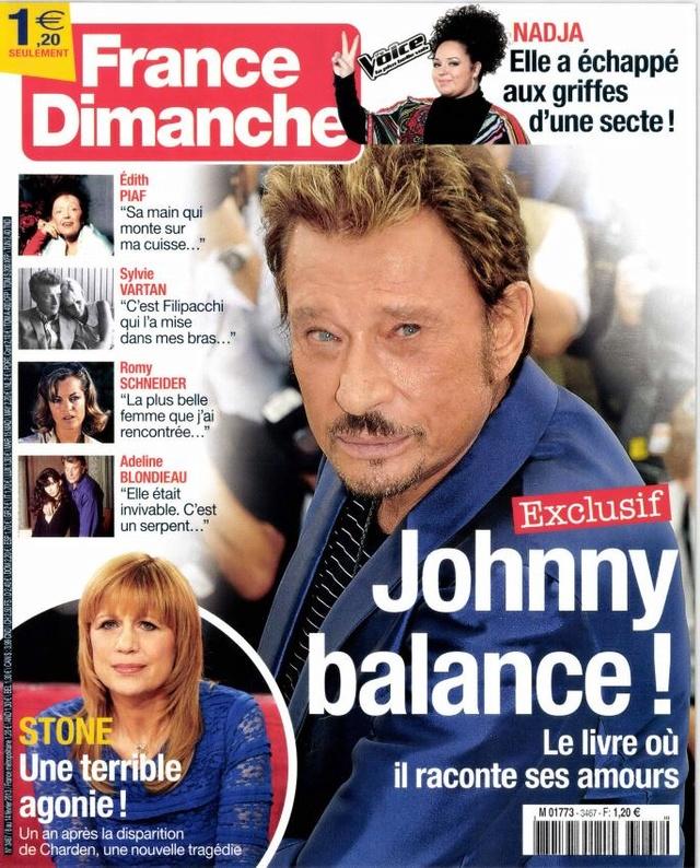 Nouvelle couverture France Dimanche Fyvrie11