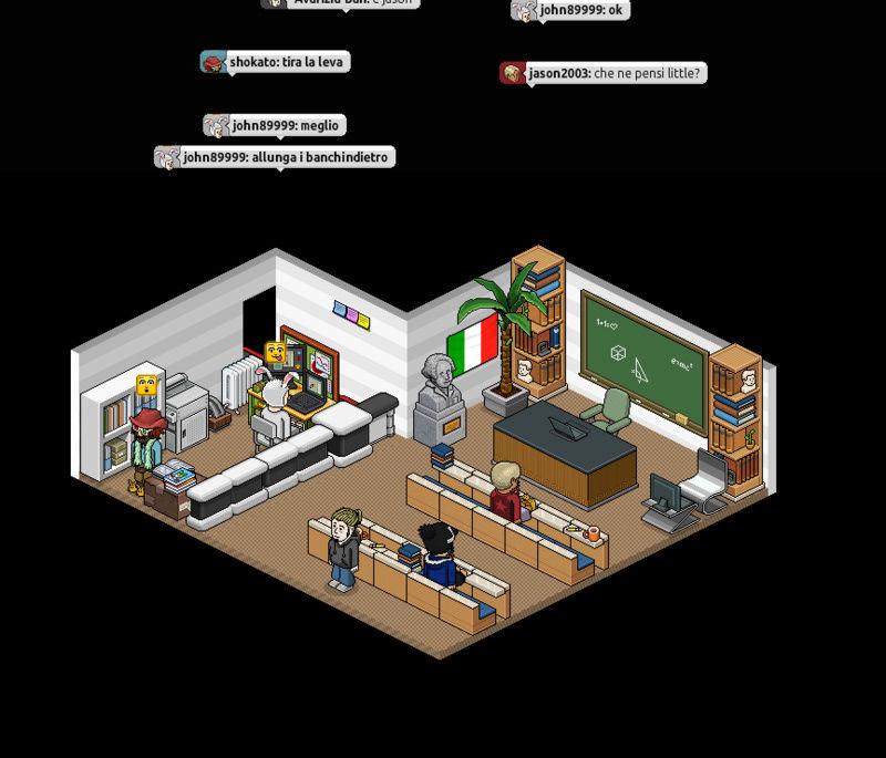 Università virtuale su Habbo Cattur10