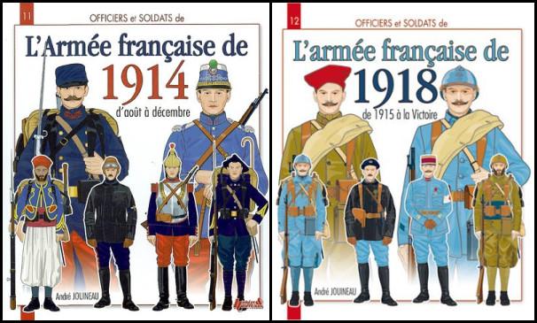 Avis sur deux livres traitant des uniformes de 14-18 R07a10