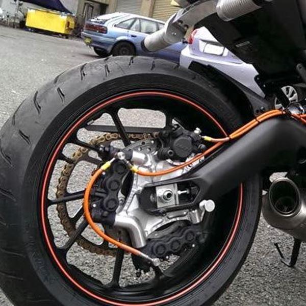 Tracer MT 09 - qualité freinage arrière Frein10
