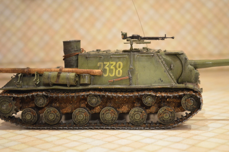 ИСУ-122 Звезда 1/35 - Страница 2 Dsc_0011