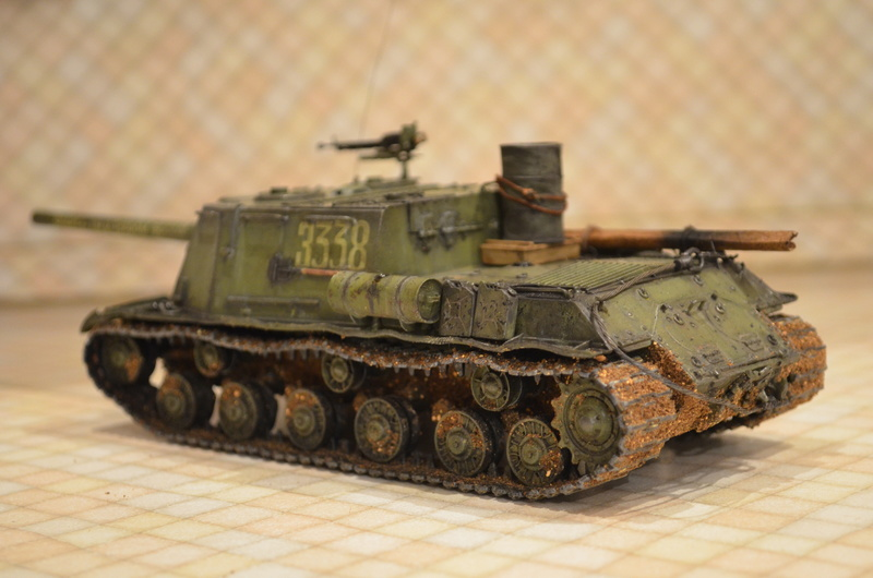 ИСУ-122 Звезда 1/35 - Страница 2 Dsc_0012