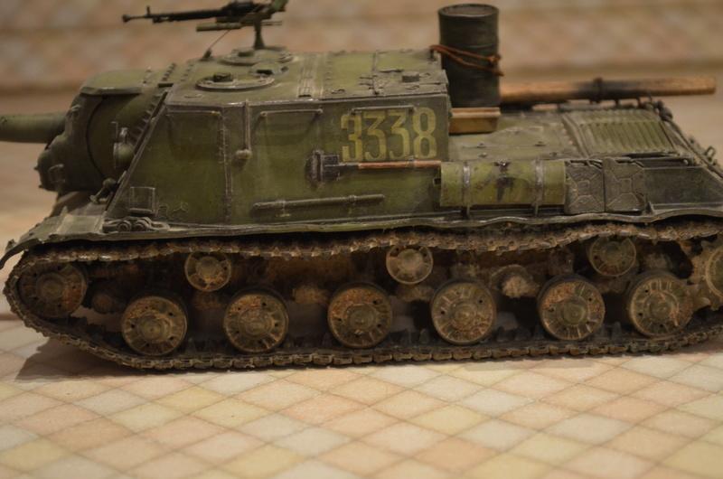 ИСУ-122 Звезда 1/35 - Страница 2 Dsc_0021