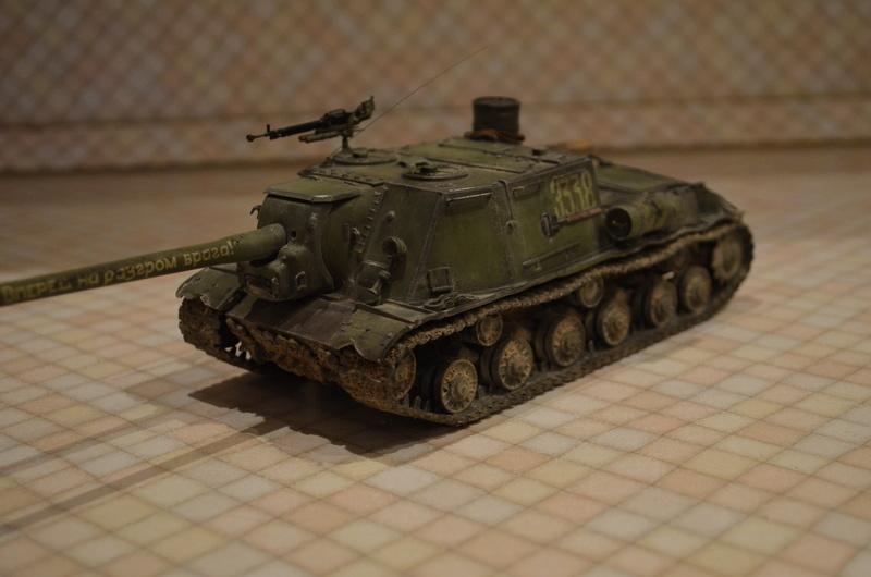 ИСУ-122 Звезда 1/35 - Страница 2 Dsc_0022