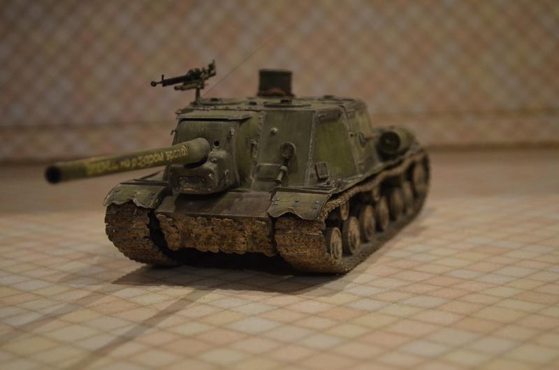 ИСУ-122 Звезда 1/35 - Страница 2 Dsc_0025