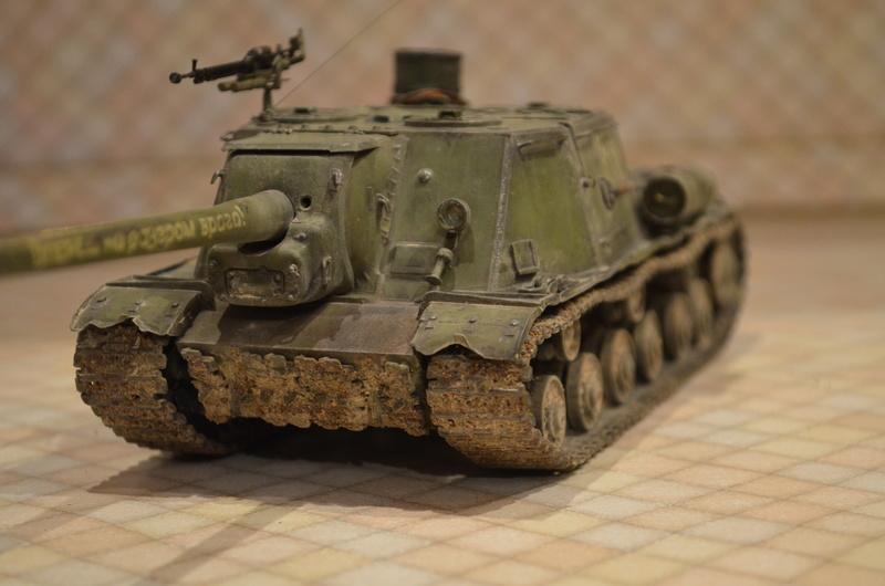 ИСУ-122 Звезда 1/35 - Страница 2 Dsc_0026
