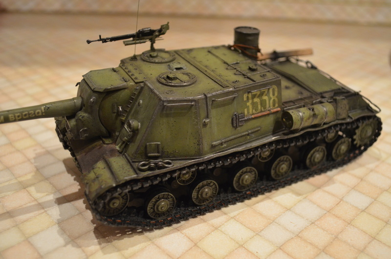 ИСУ-122 Звезда 1/35 Dsc_0111