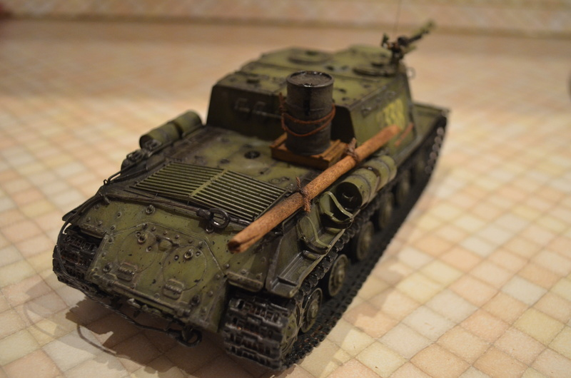 ИСУ-122 Звезда 1/35 Dsc_0112