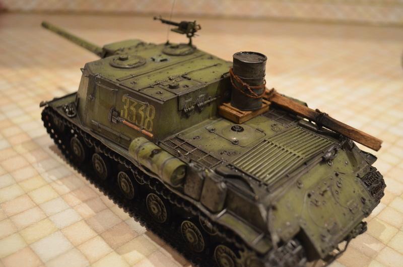 ИСУ-122 Звезда 1/35 Dsc_0113
