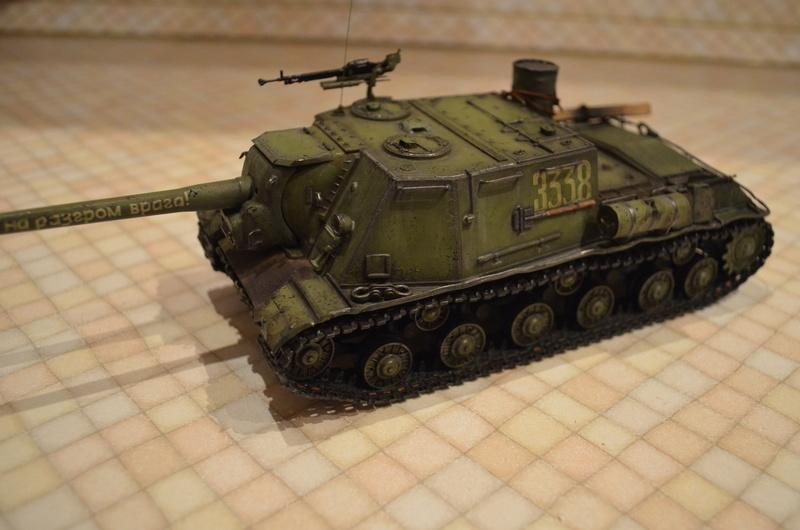 ИСУ-122 Звезда 1/35 Dsc_0117