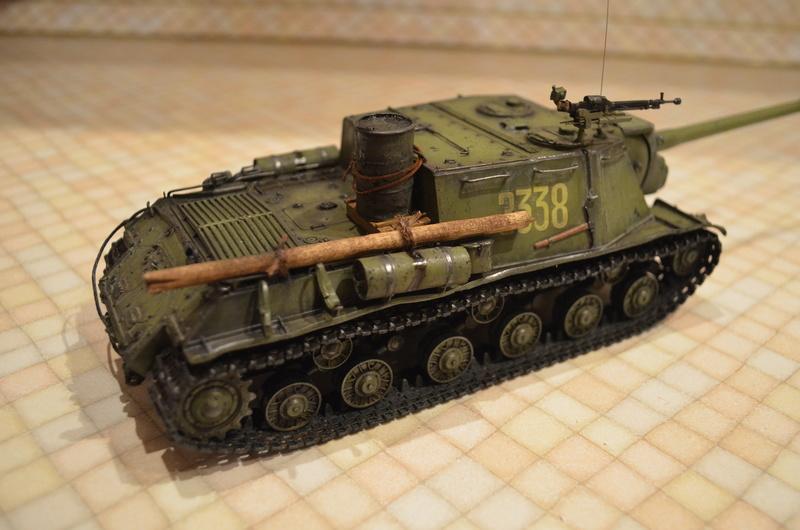 ИСУ-122 Звезда 1/35 Dsc_0119