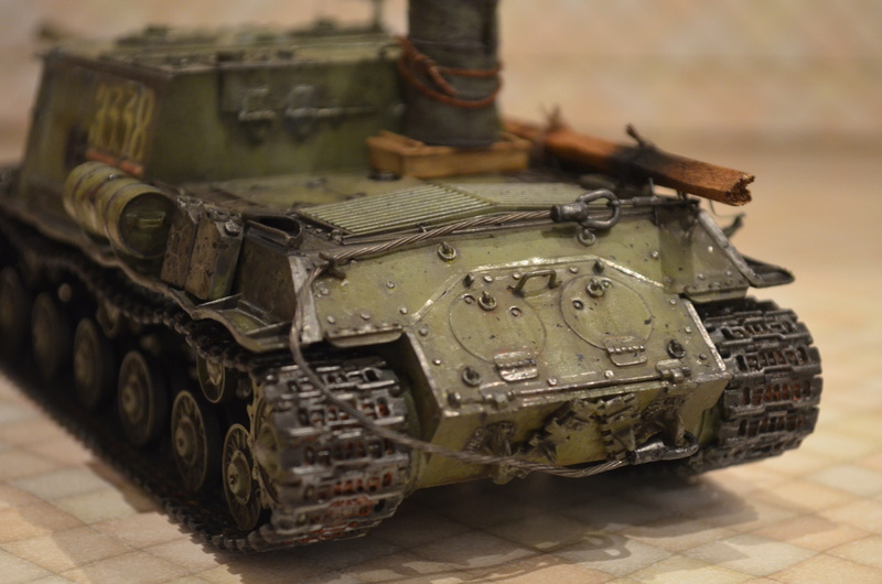 ИСУ-122 Звезда 1/35 Dsc_0121