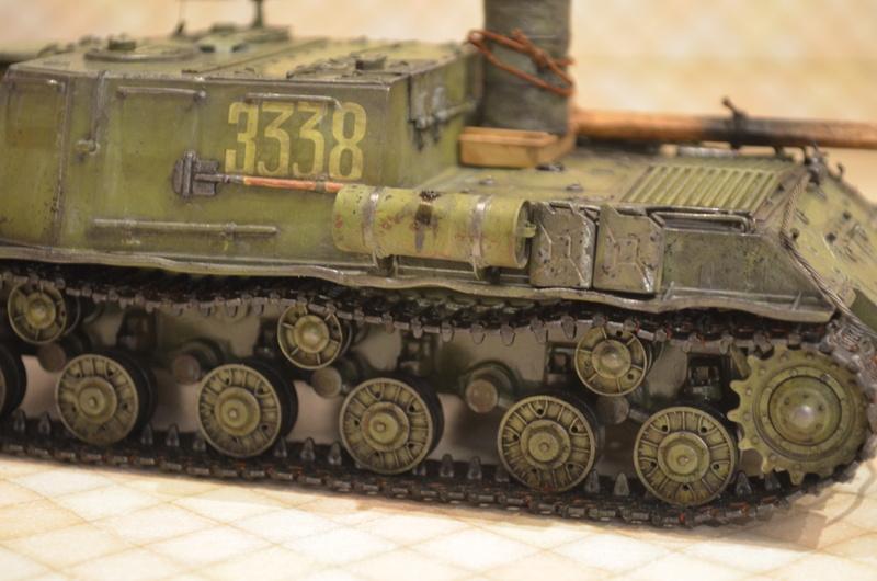 ИСУ-122 Звезда 1/35 Dsc_0122