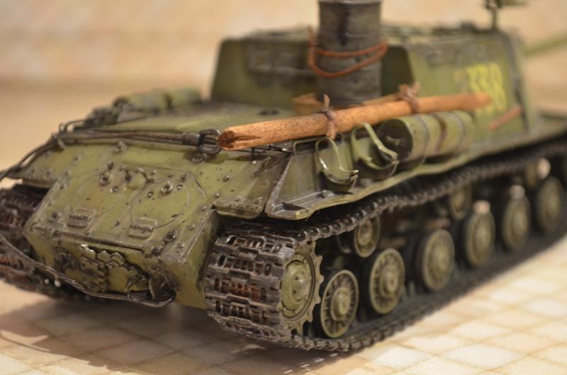 ИСУ-122 Звезда 1/35 Dsc_0123