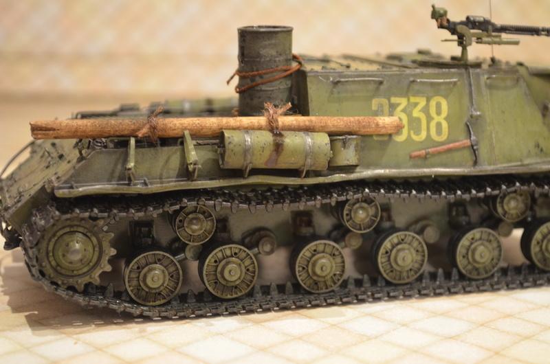 ИСУ-122 Звезда 1/35 Dsc_0124