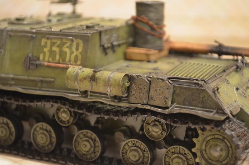 ИСУ-122 Звезда 1/35 Dsc_0125