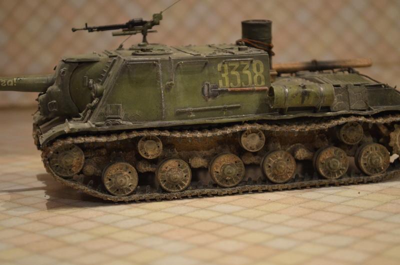 ИСУ-122 Звезда 1/35 - Страница 2 Dsc_0129