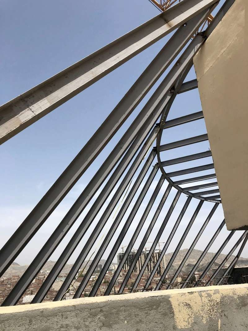 double glass glazing on steel structure Img-2011