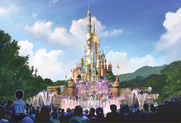 [Hong Kong Disneyland] Nouveau Sleeping Beauty Castle (2020) - Page 4 Fb_img12