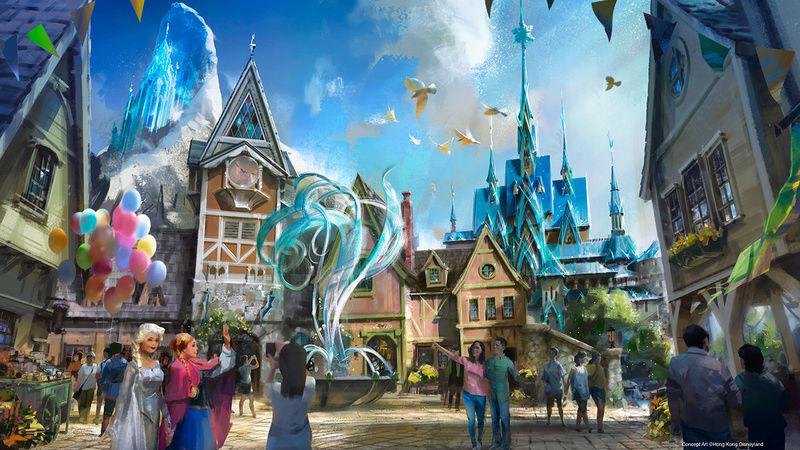 [Parc Walt Disney Studios] Nouvelle zone La Reine des Neiges  (202?) Frozen11